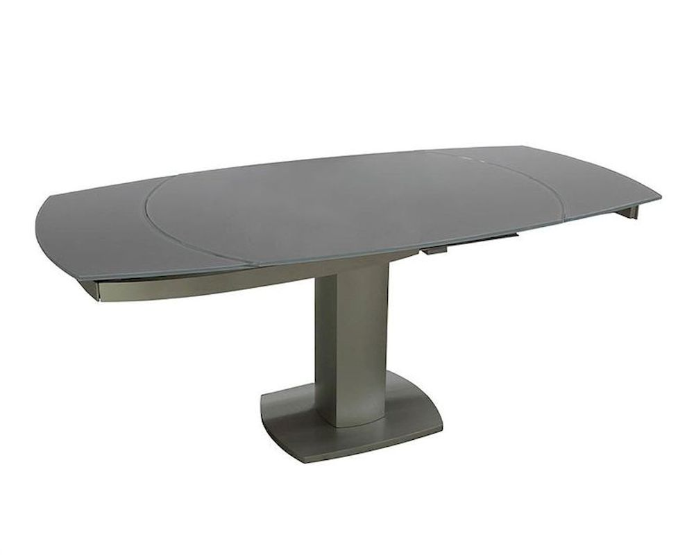 Contemporary Compact Extendable Dining Table 44d2609xt 10