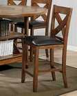 Contemporary Counter High Bar Stool MCFALOD65RTA-BS (Set of 2)