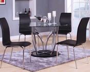 Contemporary Dining Set Elinor by Acme Furniture AC70710SET