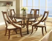 Contemporary Dining Set Gatsby by Somerton SO-422-61Set
