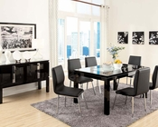 Contemporary Dining Set Prisca by Acme Furniture AC70985SET