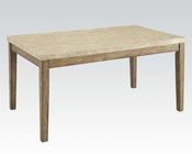 Contemporary Dining Table Claudia by Acme Furniture AC71715