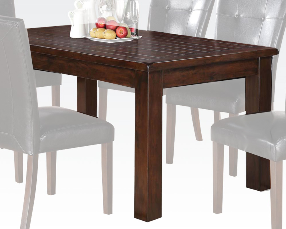 Contemporary dining table easton by acme ac71140 for Dining room tables easton