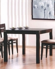 Contemporary Dining Table in Cappuccino MO-6750TB