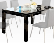Contemporary Dining Table Prisca by Acme Furniture AC70985