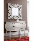 Contemporary Dresser and Mirror Set 33C71