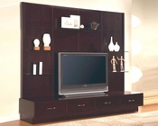 Contemporary Entertainment Wall Unit CO700185