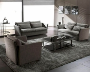 Contemporary Fabric Sofa Set 44LVIP201A