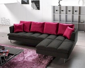 Contemporary Fabric Tufted Sectional Sofa Set 44LE29C