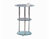 Contemporary Glass Bar Table 44BR30-01T