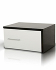 Contemporary Glossy Nightstand 44B180NS
