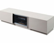 Contemporary Grey Gloss TV Stand 44ENT129
