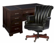 Contemporary Junior Executive Office Set by Hekman HE-79190-SET