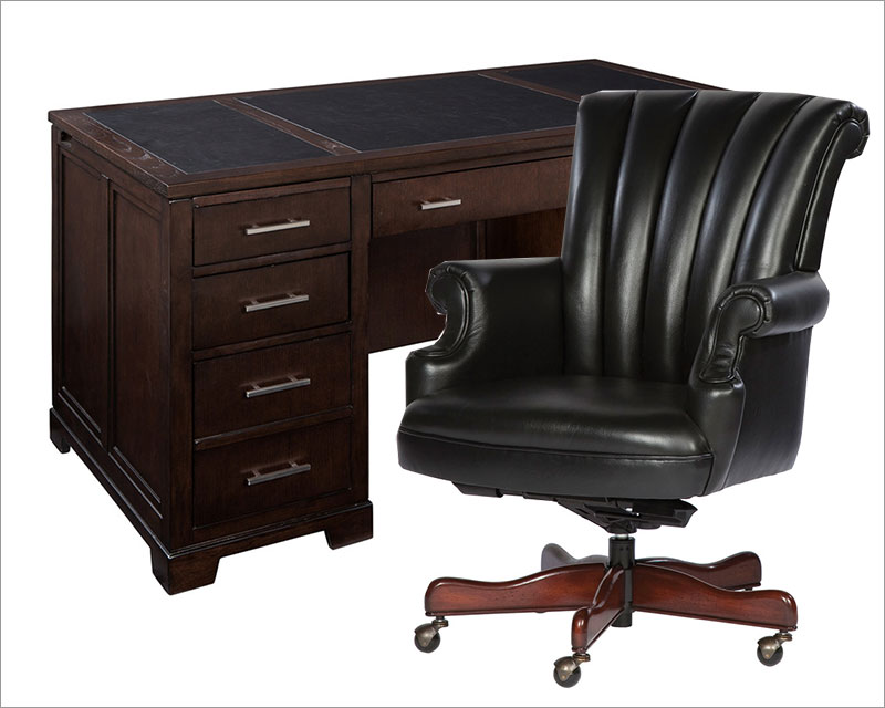 contemporary junior executive office set by hekman he