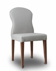 Contemporary Light Grey Eco-Leather Dining Chair 44D8968CH