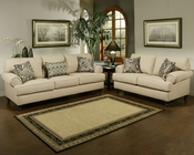 Contemporary Living Room Set Southerland in Toast Finish BH-47SS231