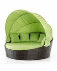 Contemporary Outdoor Round Bed 44P200-BED