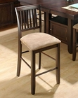 Contemporary Slat Back Stool JO-373-BS711KD (Set of2)