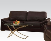 Contemporary Sofa Ember Espresso by Acme Furniture AC51695