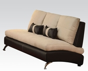 Contemporary Sofa Jolie Sand by Acme Furniture AC51755
