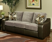 Contemporary Sofa Montana in Gray Finish BH-47SS202