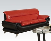 Contemporary Sofa Orel Red by Acme Furniture AC50710