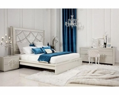 Contemporary Style Bedroom Set w/ Platform Bed 44B202SET