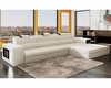 Contemporary Style Bonded Leather Sectional Sofa 44L6071