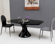 Contemporary Style Dining Set w/ Extendable Table 44D2609XT-5SET