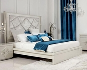 Contemporary Style Platform Bed 44B202BD