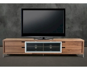 Contemporary Style Walnut TV Stand 44ENT03-WAL