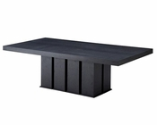 Contemporary Wenge Rectangular Dining Table 44D8168VG