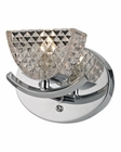 ELK Contour Collection 1 light bath in Polished Chrome EK-46156-1