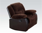 Corduroy Fabric Recliner Bernal by Acme Furniture AC50467