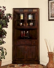 Corner China Cabinet Santa Fe by Sunny Designs SU-2451DC