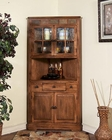Corner China Cabinet Sedona by Sunny Designs SU-2451RO