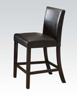 Counter Height Chair Bravo by Acme Furniture AC70357 (Set of 2)