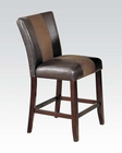 Counter Height Chair Britney by Acme Furniture AC17049 (Set of 2)