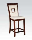 Counter Height Chair Oswell by Acme Furniture AC71607 (Set of 2)