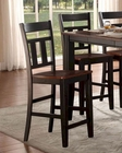 Counter Height Chair Westport by Homelegance EL-5079BK-24 (Set of 2)