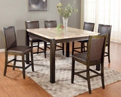 Counter Height Set Charissa by Acme Furniture AC70755SET