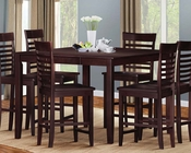Counter Height Set Ebony by Acme Furniture AC70034SET