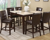 Counter Height Set Justin by Acme Furniture AC16555SET