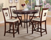Counter Height Set Oswell by Acme Furniture AC71605SET