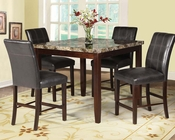 Counter Height Set Rolle by Acme Furniture AC71075SET