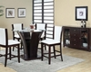 Counter Height Set w/ 48in Dia Table Malik by Acme AC70510SET