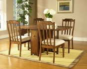 Craftsman Dining Set w/ Gate Leg Table by Somerton SO-417G60SET