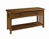 Craftsman Sofa Table by Somerton Dwelling SO-417-05