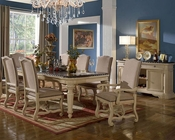 Cream Finish Dining Set by MCF Furnishings MCFD9801