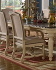 Cream Finish Side Chair by MCF Furnishings MCFD9801-CS (Set of 2)
